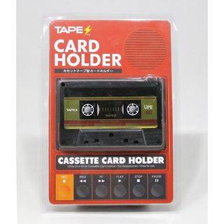 TAPES カードホルダー / RED ver.