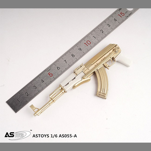 【AST-055A】1/6 Foldable Buttstock AK-47