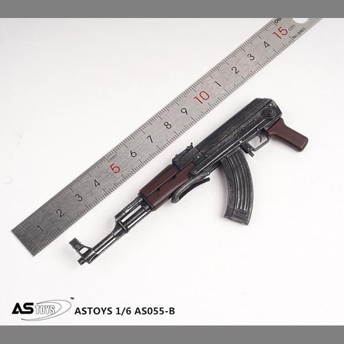 【AST-055B】1/6 Foldable Buttstock AK-47
