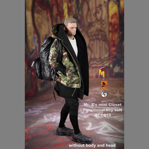 【MCC-011】 1/6 Men Fashion CAMO Costume Set