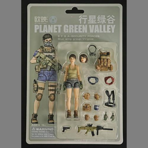 【PGV:生産停止】バージニー ( EFSA警備隊 ブルーウィング )