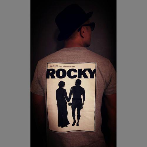 ロッキー Tシャツ (グレー) 【XXLサイズ】