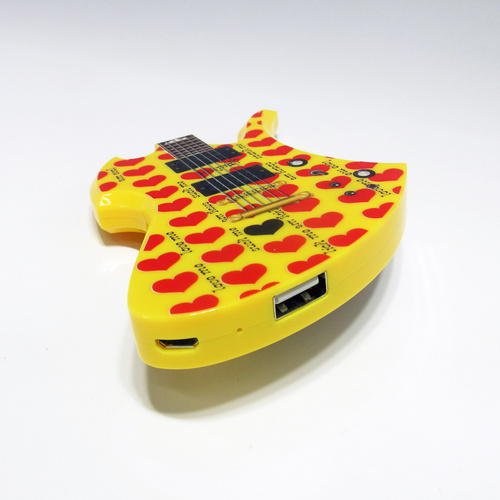 hide MODEL GUITAR (YELLOW HEART ver.)
