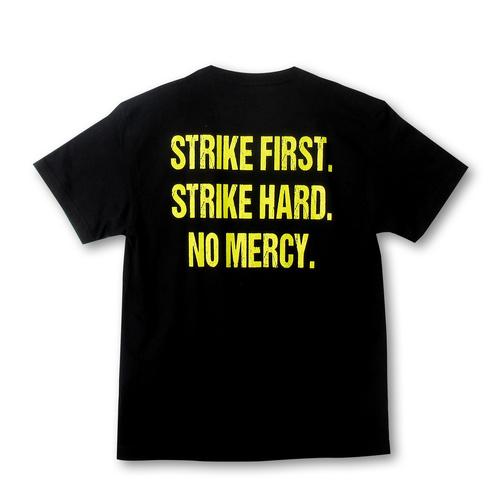 『コブラ会』サークルスネークロゴ Tシャツ(黃ロゴ) / XL