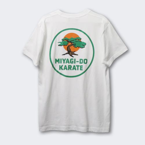 『コブラ会』ミヤギ道カラテ Tシャツ 2nd 白 XL