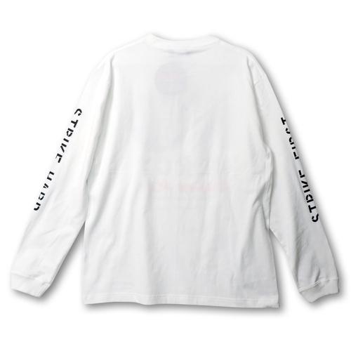 『コブラ会』  NO MERCY ロング スリーブ Tシャツ(白) XL