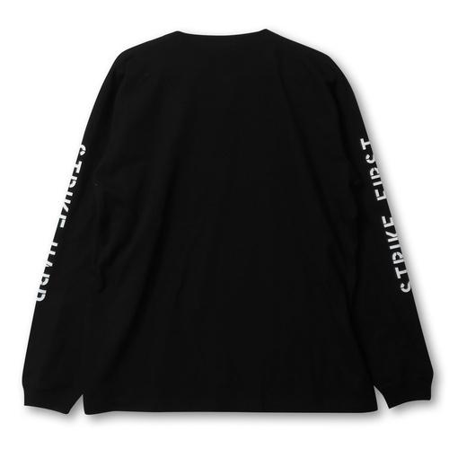 『コブラ会』  NO MERCY ロング スリーブ Tシャツ(黒) XXL