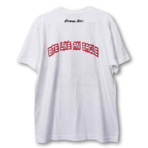 『コブラ会』 イーグルファングカラテ Tシャツ(白) XXL
