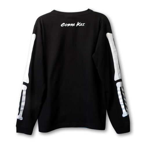 『コブラ会』 スケルトンロングスリーブ Tシャツ Mサイズ