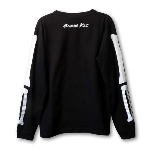 『コブラ会』 スケルトンロングスリーブ Tシャツ Lサイズ