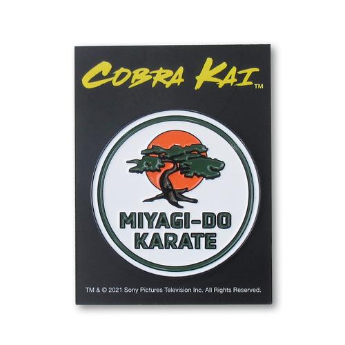 『コブラ会』ミヤギ道カラテロゴ ピンズ