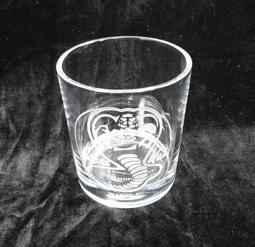 『コブラ会』スネークロゴ ロックグラス