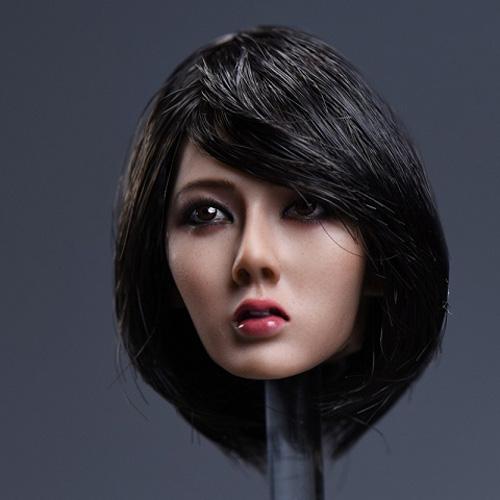 YM Toys 1/6 アジア人女性ショート黒髪