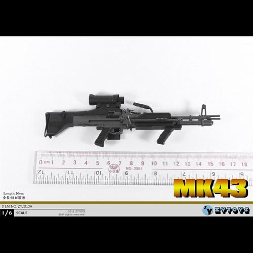 【ZY-2010A】 ZY TOYS 1/6  MK43軽機関銃(A)