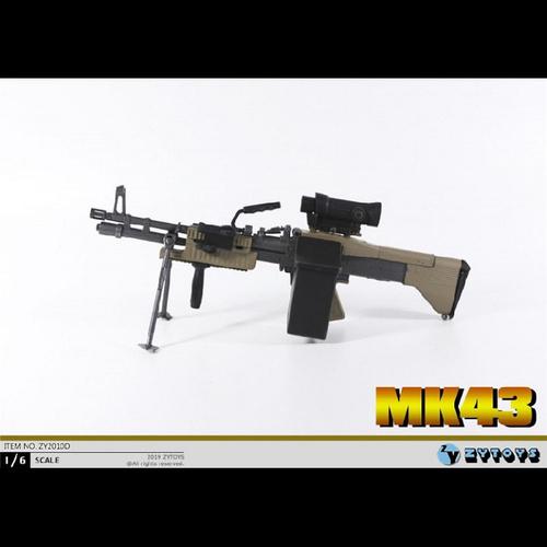 【ZY-2010D】ZY TOYS 1/6  MK43 軽機関銃(D)