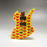 hide MODEL GUITAR (YELLOW HEART ver.) PLAYERS MOBILE BATTERY CHARGER